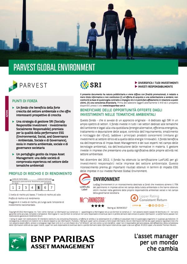 Parvest Global Environment