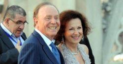 Ennio Doris e moglie
