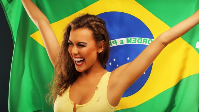 brasiliano nudo modello